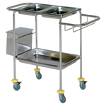 Select Dressing Trolley-600x400 - 2 trays