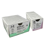 Ethilon Sutures Blue 3-0 45cm 26mm x 24