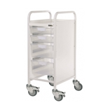 Vista 30 Trolley with 2 Single Depth Trays & 2 Double Depth Trays