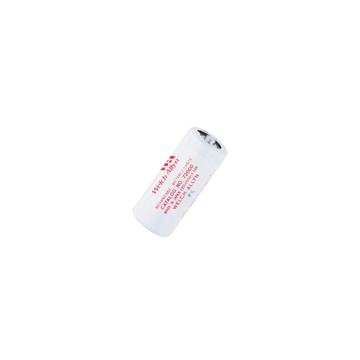 Welch Allyn 2.5v Battery - 72600