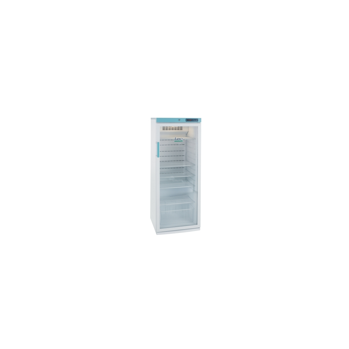 PGRC273UK Pharmacy Fridge with Glass Door - 273 litre
