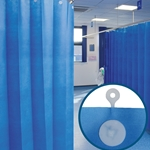 Universal-fit Disposable Cubicle Curtain 4.5m x 2m