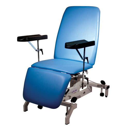 Plinth Hydraulic Phlebotomy Couch