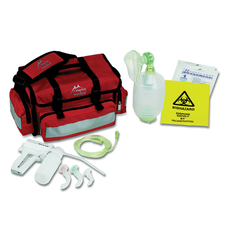 Mini Resuscitation Kit with Disposable Resuscitation Bags