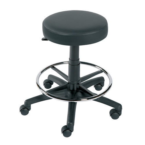 Gas-lift Stool with Foot Ring