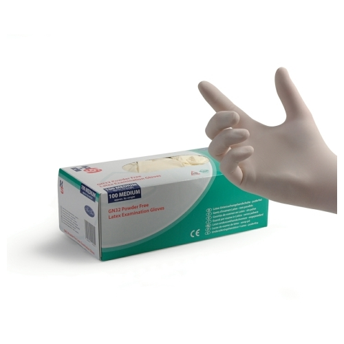 Powder Free Latex Gloves x 100